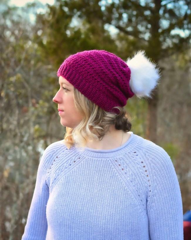 fairy tale crochet beanie pattern
