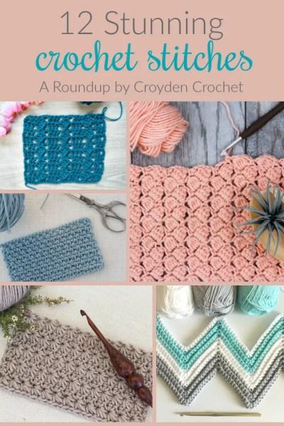 12 stunning crochet stitches