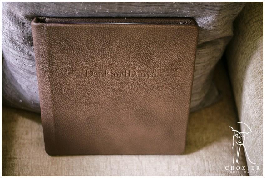 Redtree Leather Wedding Album
