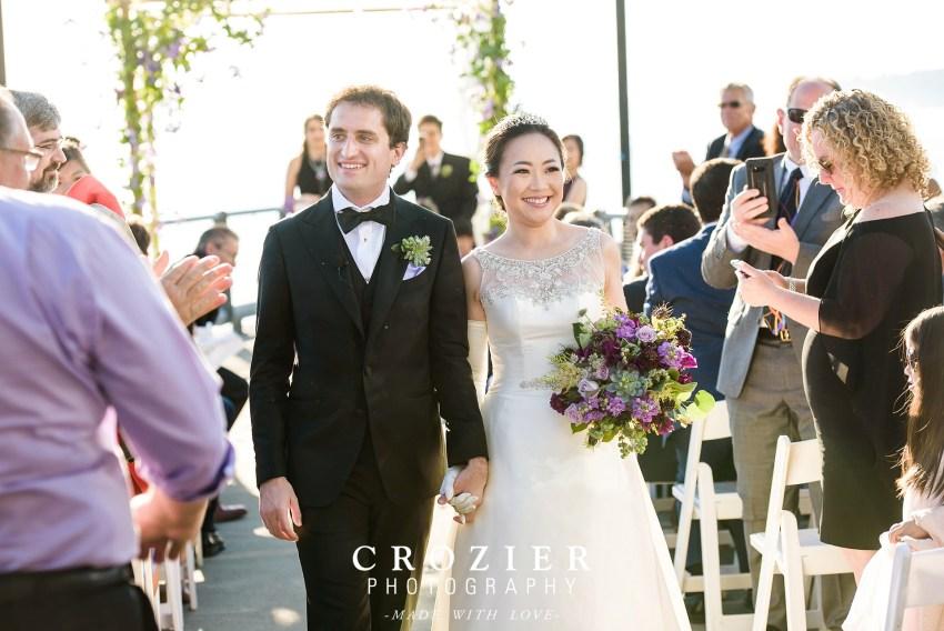 seattle-aquairum-wedding-ceremony exit