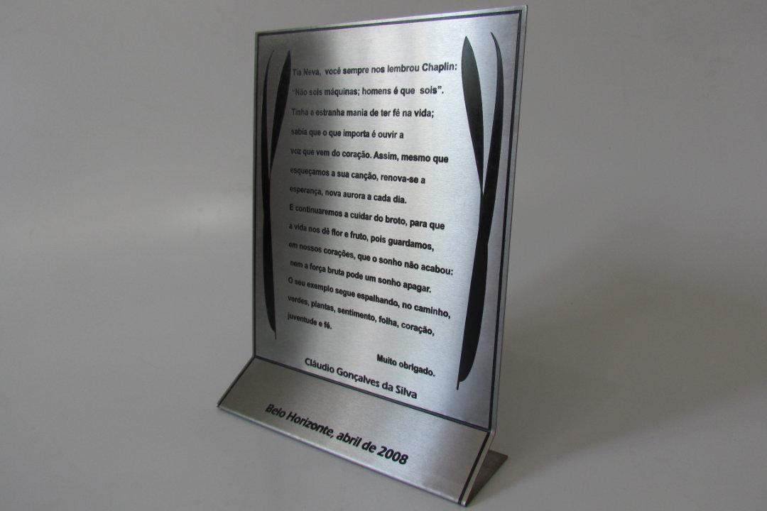 Troféu Placa