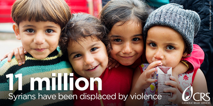 20 years is how long the Syrian refugee crisis is expected to last. Here are 7 things you can do to help through Catholic Relief Services. #WorldRefugeeDay