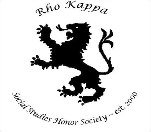 Rho Kappa Social Studies Honor Society / RHO KAPPA