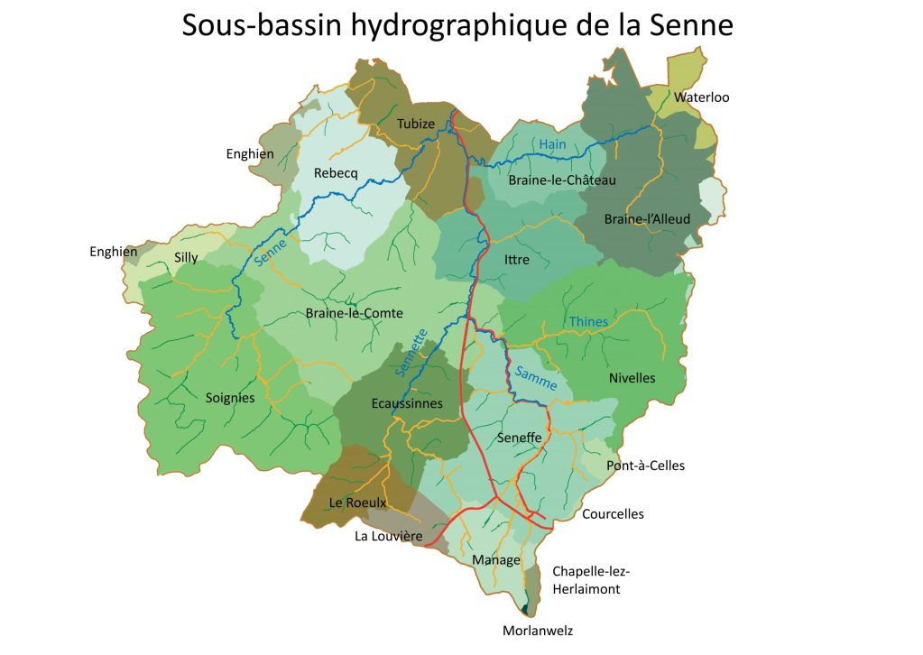 Bassin de la Senne Wallonie