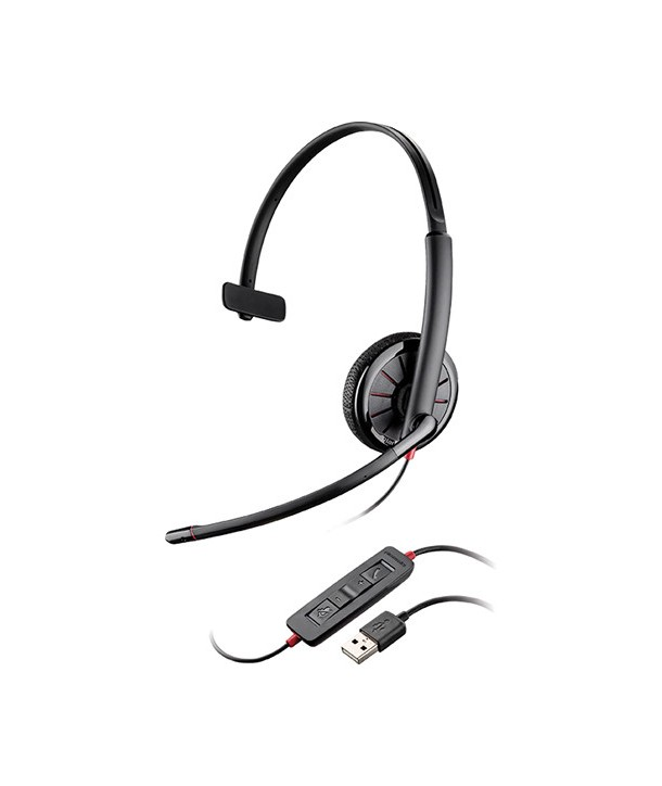 Plantronics Blackwire 315 Auricular con Cable USB Monoaural