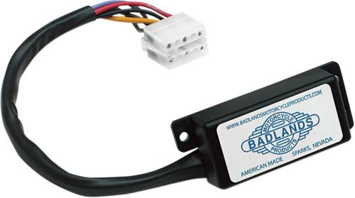 small resolution of badlands m c automatic signal canceler for 87 93 h d w 10 pin amp style motorcycle street ats 03 a