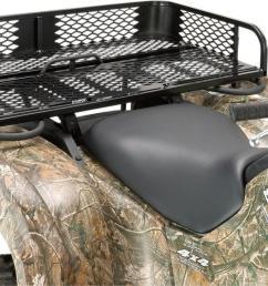 moose universal rear rubber coated mesh rack atv utv m4879 [ 1200 x 726 Pixel ]