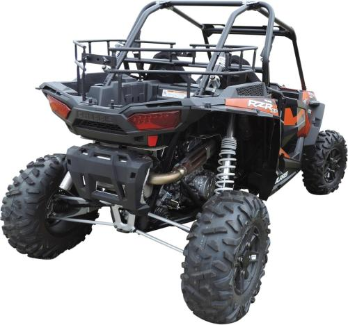 small resolution of moose polaris rzr 1000 black cargo bed rack atv utv rz 1000