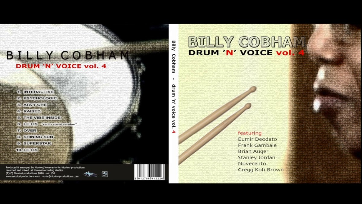 BILLY COBHAM - DRUM' N VOICE vol. 4 (Full Album)