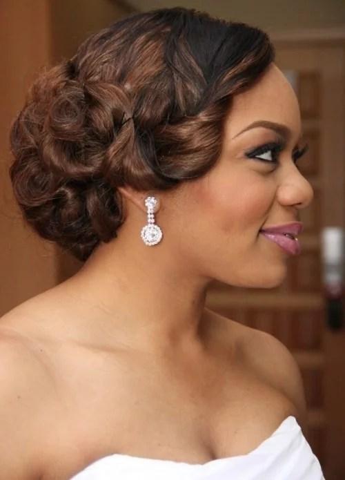 50 Best Wedding Hairstyles For Black Women 2017 Cruckers