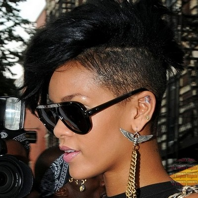 5 Hottest Short One Side Mohawk Haircuts African American