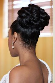 5 sounding wedding braided bun