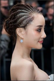 5 wedding hairstyles cornrows
