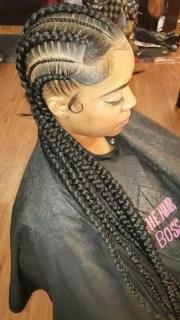 black braided hairstyles