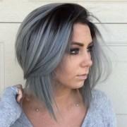 tips dye hair gray