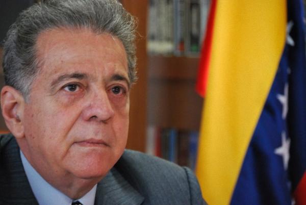L'ambasciatore Julián Isaías Rodríguez Diaz