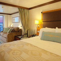 Disney Dream Sofa Bed Purple Chesterfield Leather Concierge Family Oceanview Stateroom With Verandah Room Close