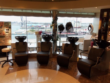 MSC Aurea Spa salon