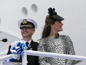 Captain Tony Draper & Kate Middleton