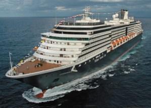 ms Zuiderdam at Sea