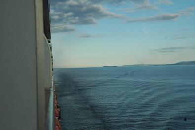 Sailing along the Pacific Northwest