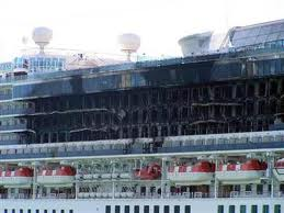 Star Princess fire. photo: Cruise Law News