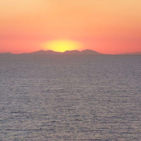Sailing away from Palma