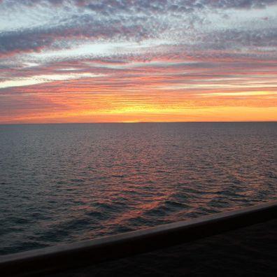 Sailing past Key West