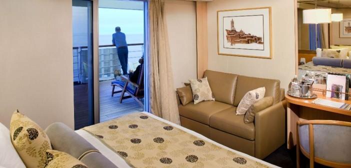 Lanai Stateroom (Room 333 Cat CA- Deck 6 MidshipVeendam - Holland America Line