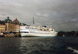 Ånedin Linjen - Baltic Star (2) - summer 1987 Stockholm