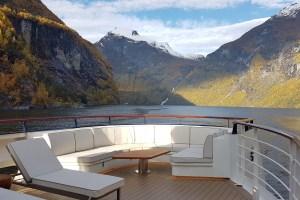 LE CHAMPLAIN in den Fjorden Norwegens