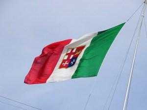 COSTA FASCINOSA - Flagge Italien