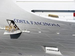 COSTA FASCINOSA - Schriftzug Bug