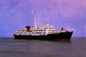 Hurtigruten-Schiff LOFOTEN