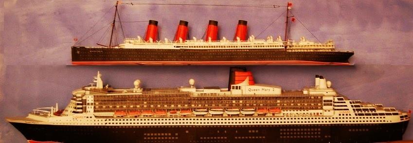MAURETANIA-QUEEN-MARY-2- 100 Jahre Cunard ab Southampton