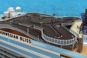NORWEGIAN BLISS Race track