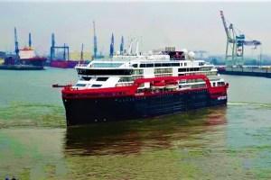Expeditions-Kreuzfahrtschiff FRIDTJOF NANSEN
