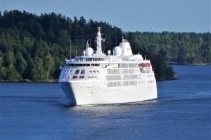 Cruise Ship SILVER CLOUD