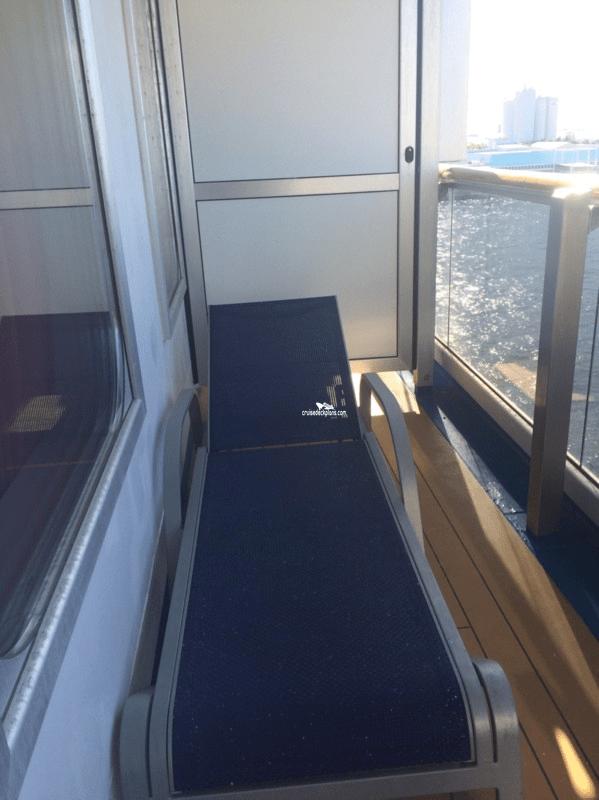 sofa table size convertible for rv carnival splendor suite details