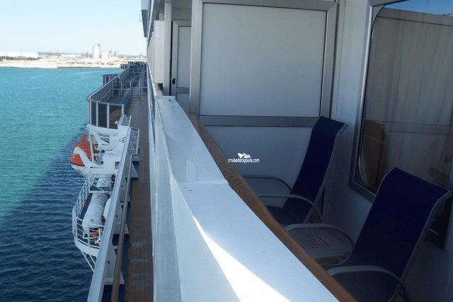 Carnival Dream Balcony Details