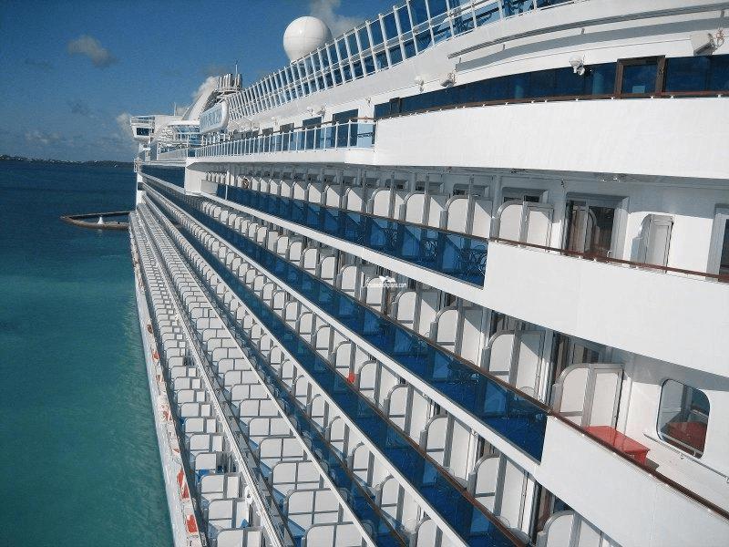Crown Princess Baja Deck Plan Tour
