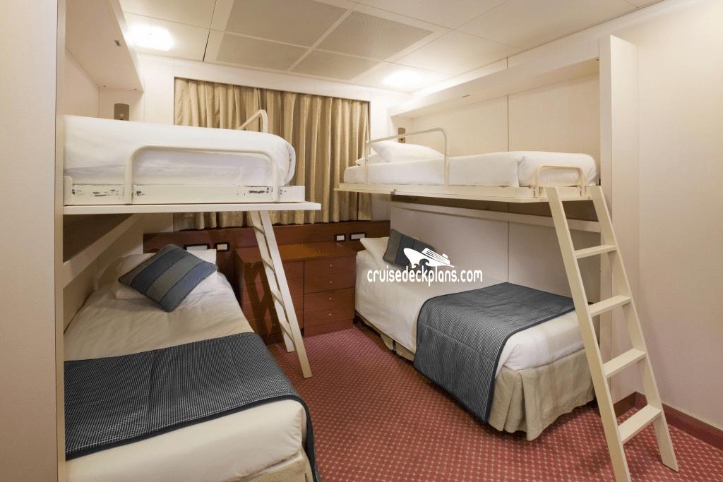 Pacific Dawn Deck Plans  Cabin Diagrams  Pictures