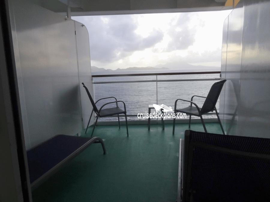 Norwegian Breakaway Class  Balcony