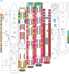 click image for big image of deck plans deck plans norwegian jade  [ 4034 x 3027 Pixel ]