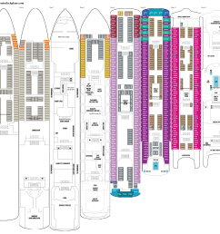 norwegian spirit deck plans [ 3111 x 2021 Pixel ]