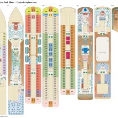 Cruise Ship Diagram Nissan Patrol Wiring Radio Royal Princess Deck Plans Diagrams Pictures Video