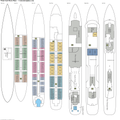 Cruise Ship Diagram Hotpoint Dryer Wiring Wind Surf Deck Plans Diagrams Pictures Video
