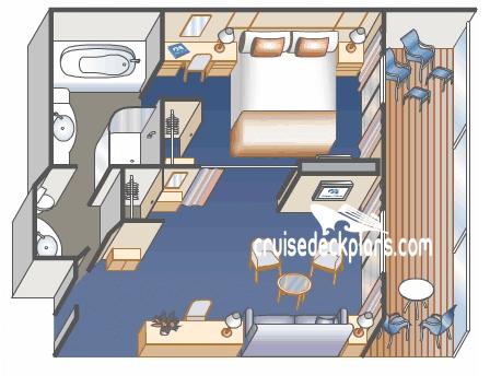 Britannia Suite Stateroom