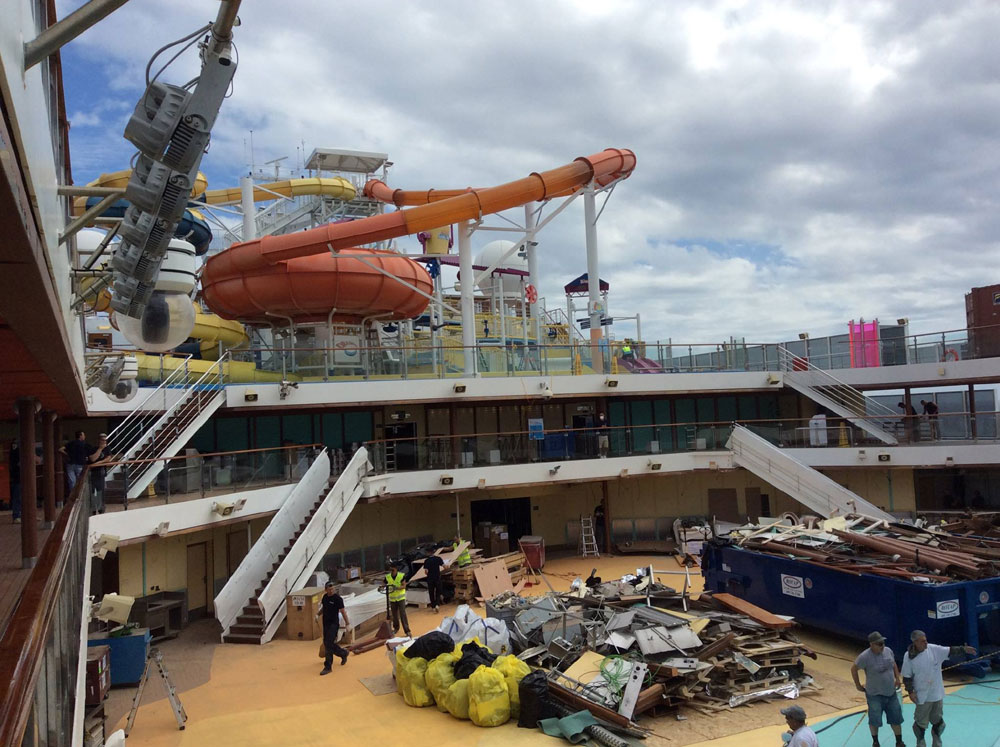 Latest Carnival Magic Refurbishment Photos