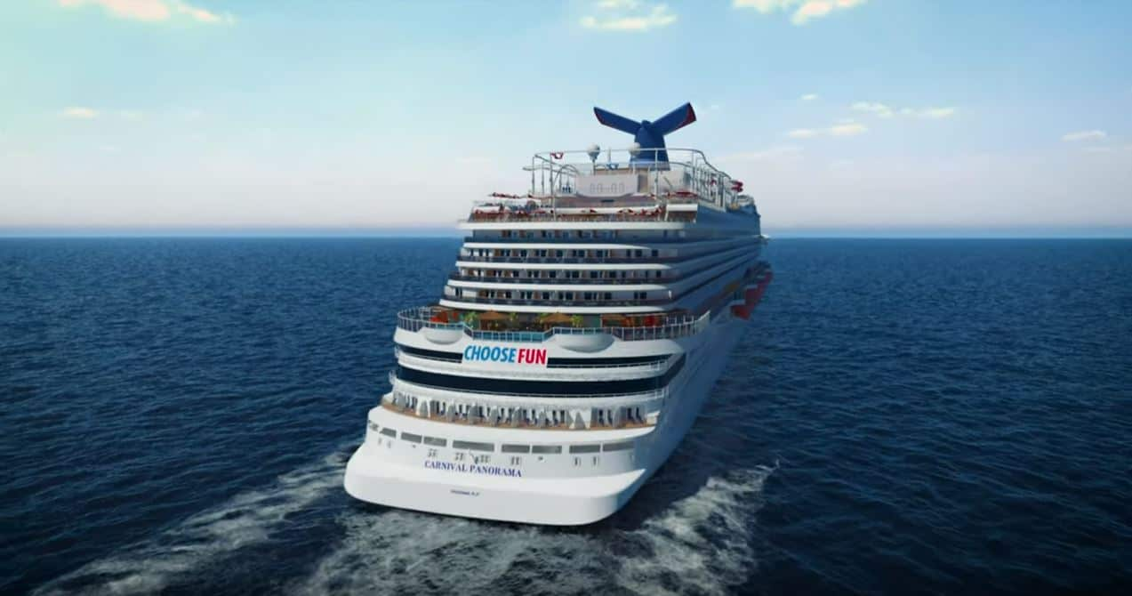 Carnival Cruise Line Releases Carnival Panorama Virtual Tour